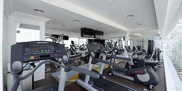 Fitness Center di The Nishat Hotel Pakistan