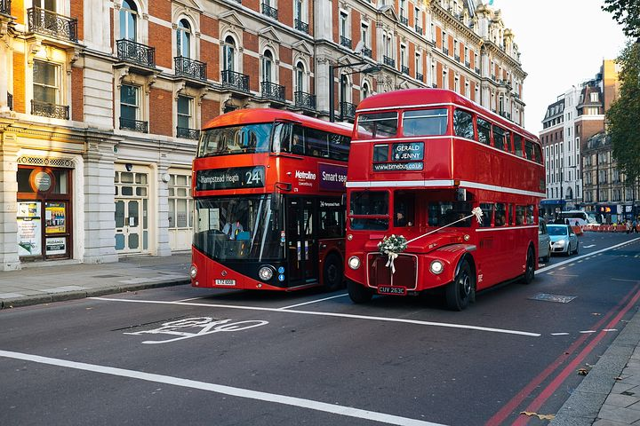 London Red Bus, transportasi publik paling ikonis