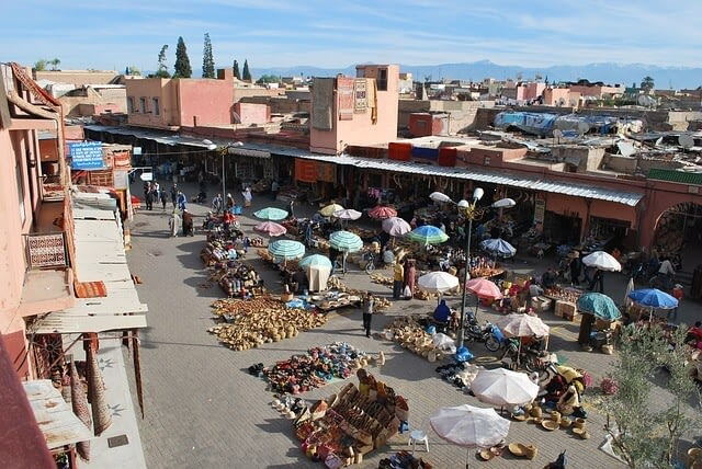 Belanja di Souk Traditional Marrakech