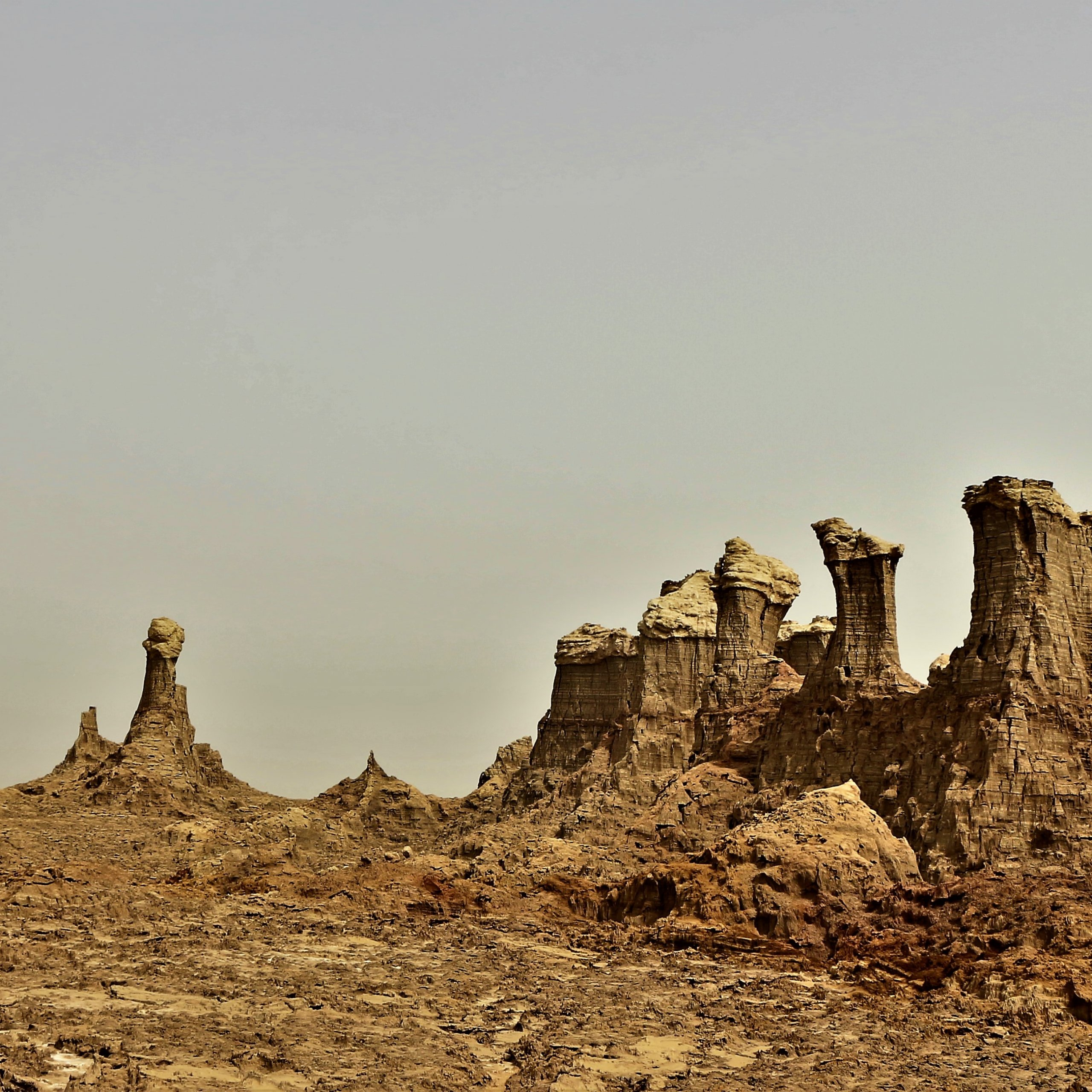 Danakil Depression. One of the beauty and nature wonder in Ethiopia.