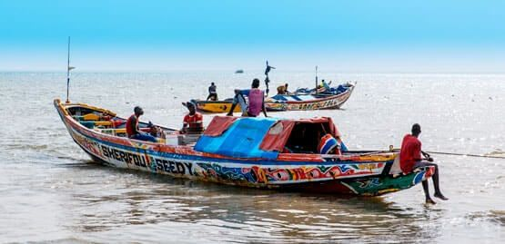 Gambia water taxi